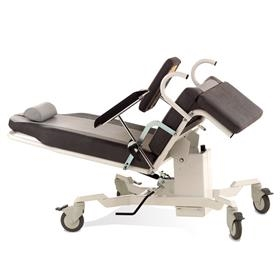 Prøvetagningsstol, fast sædehøjde, gasfjeder ryg