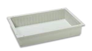 ABS bakke til skillevæg 60x40x10 cm, 10503-3